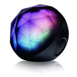 Crystals Magic Fantasy LED Bluetooth Speaker With Remote Control