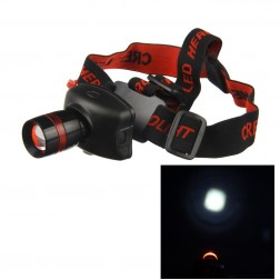 Portable Triple Mode Q3 LED Headlamp TK27 Rated At 200 Lumen