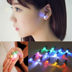 LED Stainless Steel Earrings Perfect For Dance Parties