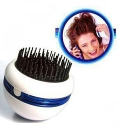 Portable Electric Spa Hair & Scalp Vibrating Massager Comb