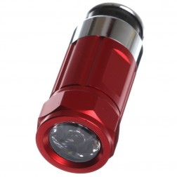 Mini LED Flashlight Torch Rechargeable With Car Cigarette Lighter