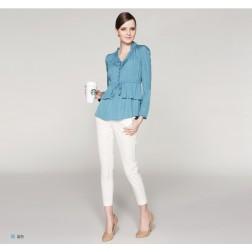 Spring Primer Long-sleeved V-Neck Shirt