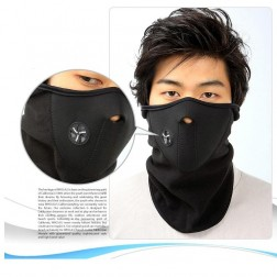 Contoured Windproof Anatomically Designed Thermal Ski Mask