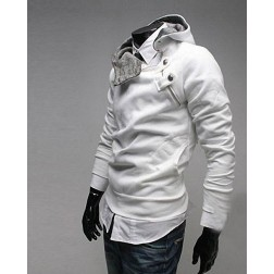 Long Sleeved Mens Hooded Sweatshirt - Autumn Collection