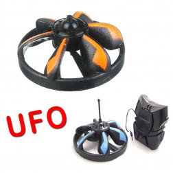 Remote Control Miniture UFO Flying Saucer Toy