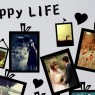Heart Home Decor DIY Photo Wall Sticker Close Up