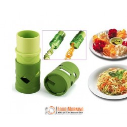 Turn your Ordinary Vegetables into Eye-Catching Spirals or Spaghetti with this Veggie Twister for Only $19 Include Free Shipping.