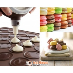 Add a Slice of Sweetness to Your Life & Enjoy Dessert Anytime with this Complete Macarons Making Kit for Only $29.