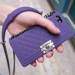 Luxury Hand Bag Style iPhone Case With Long Shoulder Strap For Easy Carrying