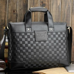 Men's Leather Business Laptop Bag - 2 Styles To Choose From