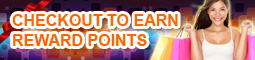 Checkout to earn reward points