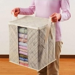 Clothing Bamboo Charcoal Accessories Storage Box