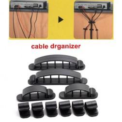 Multi-Purpose Cabledrop Cable Clip Line Organizer, 10pcs