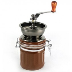 Manual Ceramic Coffee Grinder - Front View