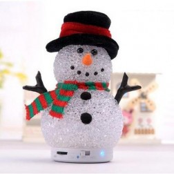 Portable Mini Snowman Bluetooth Speakers