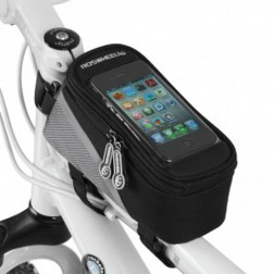 Bicycle Bag With Convenient Touchable PVC Screen For Mobile Phone