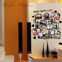 Heart Home Decor DIY Photo Wall Sticker