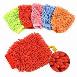 Microfiber Cloth Cleaning Wash Mitten Glove