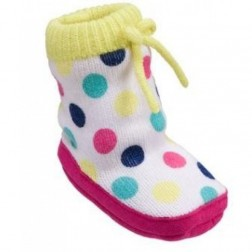 Carter's Polka Dot Knit Shoe Booties, Infant 0-6M