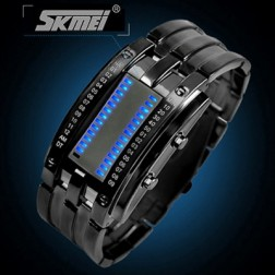 Unisex Fashion LED Watch With 30m Water Resistant